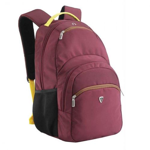 Женский городской рюкзак с отделением для ноутбука бордовый