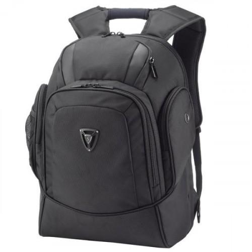 """Большой прочный рюкзак для города с отделением для ноутбука 17"""" черный"""