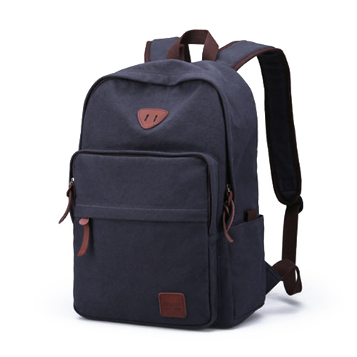 Стильный рюкзак в ретро стиле синего цвета 32 литра