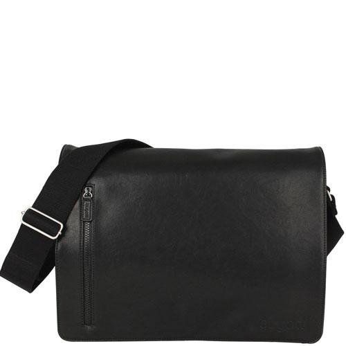 Вместительная сумка Bugatti черная