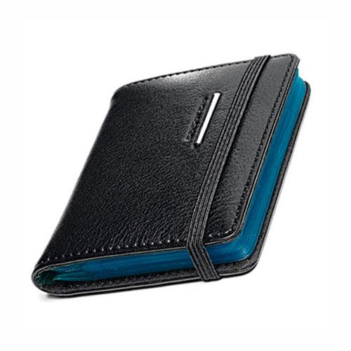 Кредитница Piquadro для 20 кредитных карт из коллекции MODUS. Черная кожа