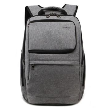 Городской рюкзак серого цвета class=