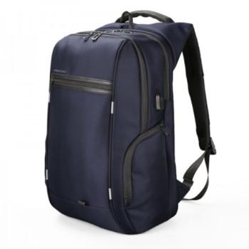 Деловой рюкзак синего цвета с отделением для ноутбука 15,6 дюйма class=
