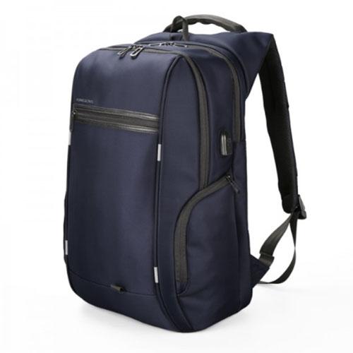 Деловой рюкзак синего цвета с отделением для ноутбука 15,6 дюйма