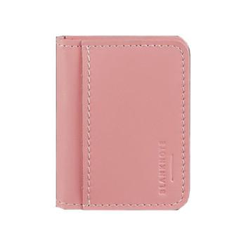 Кард-кейс ручной работы с окошком розового цвета class=