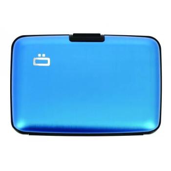 Визитница-портмоне с RFID защитой Stockholm голубой class=