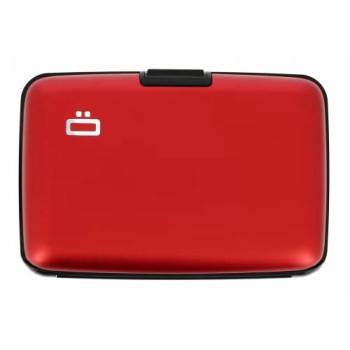 Визитница-портмоне с RFID защитой Stockholm красная  class=