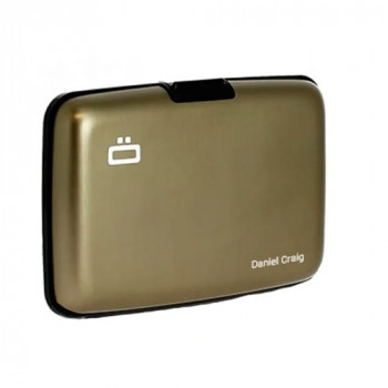 Визитница-портмоне с RFID защитой Stockholm темно-серая class=