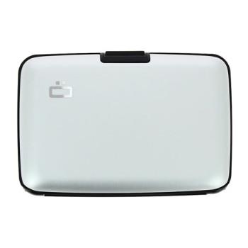 Визитница-портмоне с RFID защитой Stockholm серебро class=