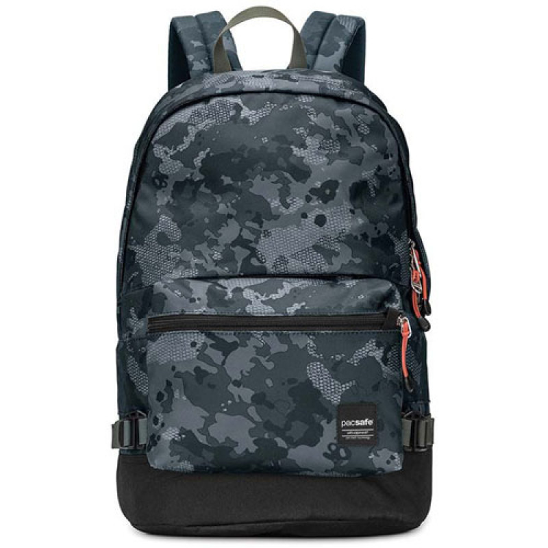 Рюкзак с максимальной защитой от воров Slingsafe LX400 зеленый камуфляж