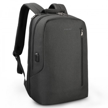 Городской рюкзак черного цвета class=