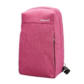Сумка - рюкзак розовая class=