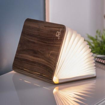 Светильник-книга Smart Book мини дерево орех class=