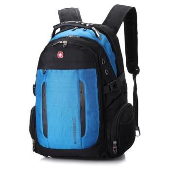 Городской рюкзак синий 35 литров class=