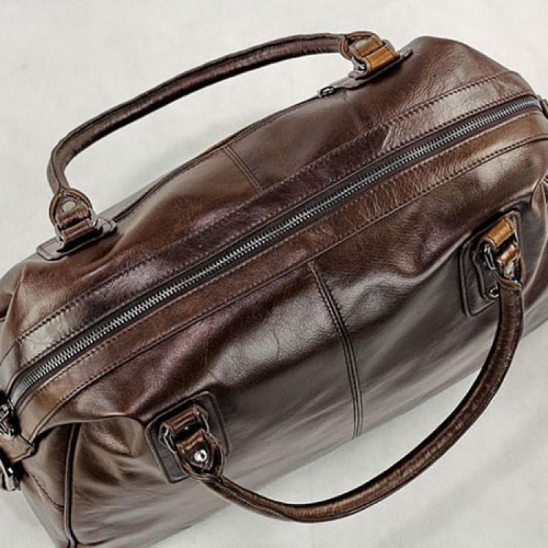 cf919315 Купить мужскую кожаную сумку для путешествий Jasper & Maine 7071B в ...