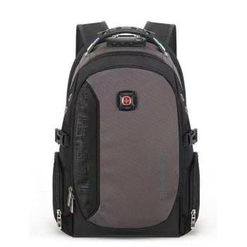 Рюкзак с кодовым замком серый class=