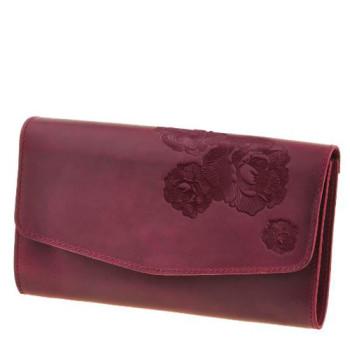 Функциональная женская сумка БланкНот Элис Виноград class=
