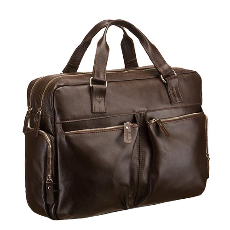 d2cc4a1a1c63 Купить кожаную мужскую сумку с кожаными ручками в интернет магазине ...