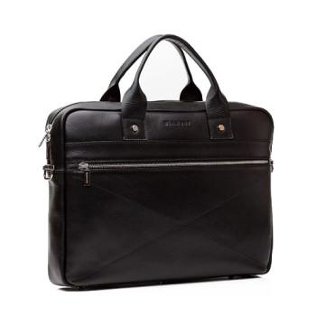 Оригинальная мужская сумка Blamont натуральная кожа class=