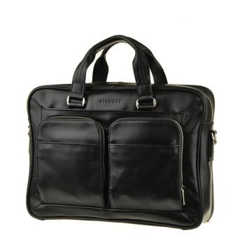 Современная деловая сумка Blamont черная class=