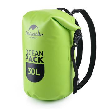 Гермомешок рюкзак 30 литров зеленый class=