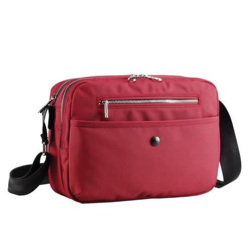 Легкая городская сумка Sumdex HPA-560KR красного цвета с отделением для ноутбука 10 дюймов