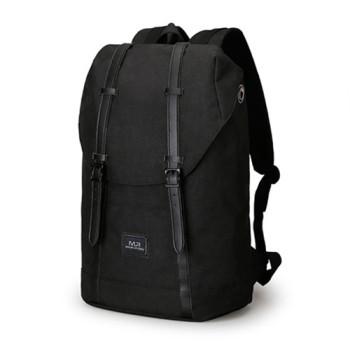 Молодежный рюкзак с USB для зарядки смартфона черный class=