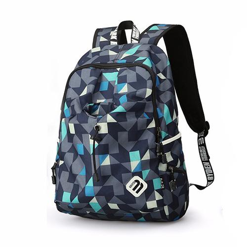 Оригинальный мужской рюкзак 23 литра синий
