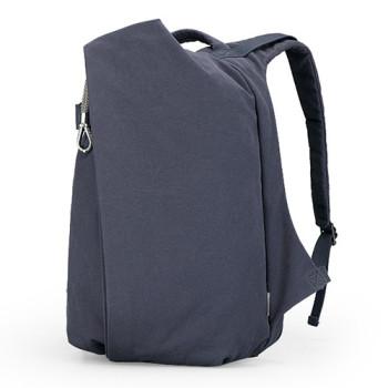 Рюкзак Muzee с асимметричным дизайном синего цвета 34 литра class=