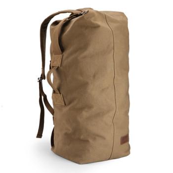 Холщовая дорожная сумка рюкзак Muzee 49 литров class=
