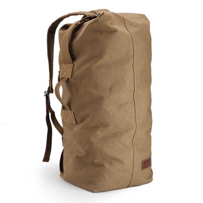 Холщовая дорожная сумка рюкзак Muzee 49 литров