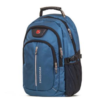 Городской рюкзак SwissGear на 32 литра синий class=