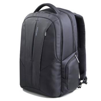 Мужской городской рюкзак черного цвета с отделением для ноутбука 15,6  class=