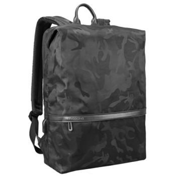 Ультра-легкий городской рюкзак цвета черный-хаки class=