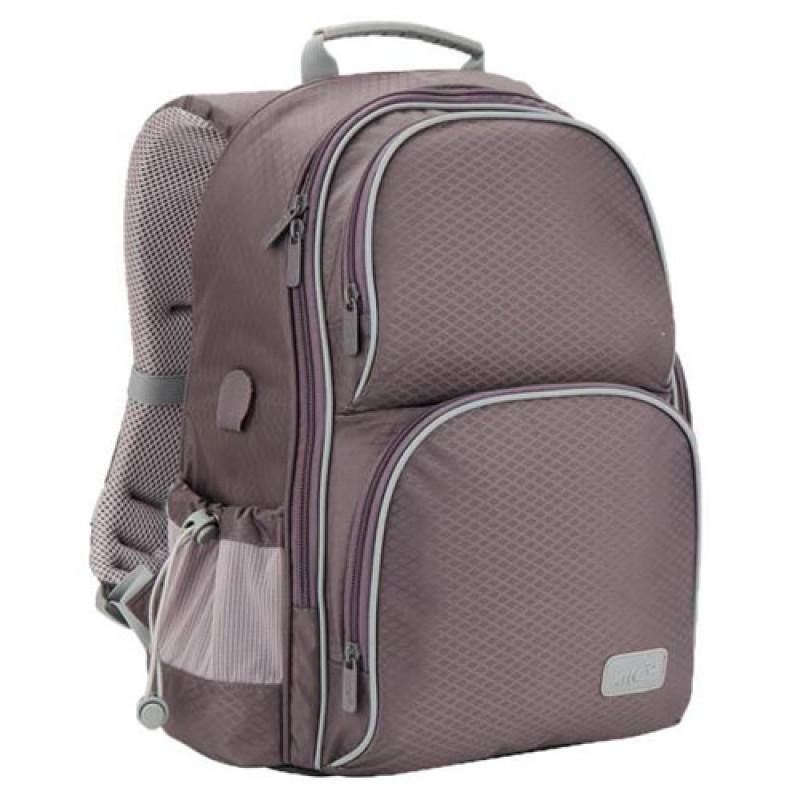 381dbf27795b Купить серый рюкзак школьный для мальчика первоклассника в интернет ...