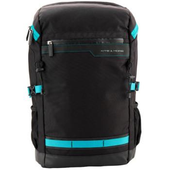 Мужской деловой рюкзак Kite&More черного цвета class=