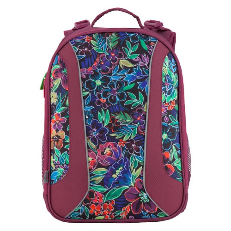 Рюкзак для школы каркасный Kite 703 Flowery
