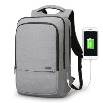 Серый рюкзак Atomic с креплением на чемодан class=