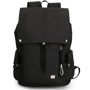 Черный молодежный рюкзак Flexy с USB class=