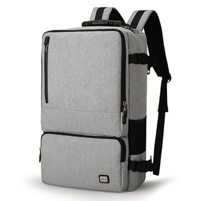 14d15f9a1788 Серая сумка-рюкзак Magic антивор в интернет магазине Fosfor Украина