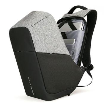 Городской рюкзак антивор Safe Contrast с USB class=