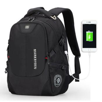 Мужской рюкзак Wander 27 литров черный class=