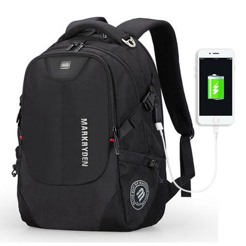 Мужской рюкзак Wander 27 литров черный