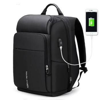 Большой мужской рюкзак с отделением для ноутбука 17 дюймов class=