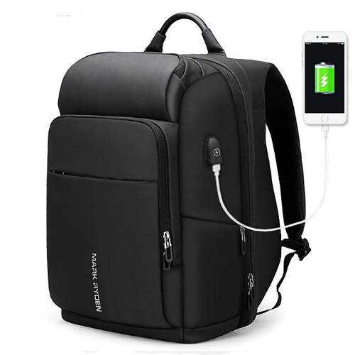 Большой мужской рюкзак с отделением для ноутбука 17 дюймов