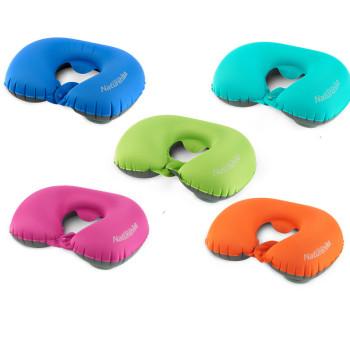 Подушка для путешествий надувная на шею class=