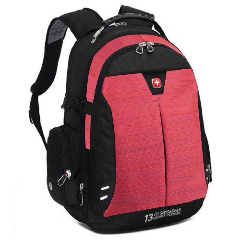Городской рюкзак SwissGear с увеличивающимся объемом 34 - 39 литра красный
