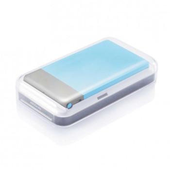 Пауэр-банк Flat 4600 mAh голубой class=