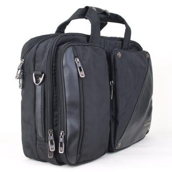Мужская сумка с кожаными вставками Numanni с отделением для ноутбука 1 class=