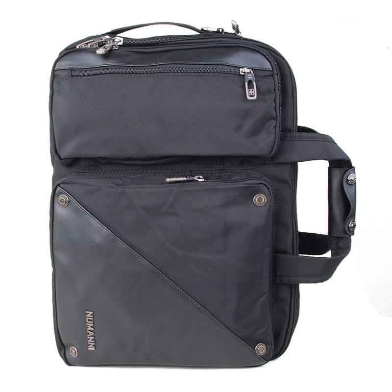 3c878159f8d5 ... Портфель с кожаными вставками Numanni с отделением для ноутбука 15